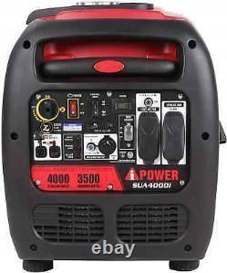 A-ipower 4,000-watt Super Quiet Portable Gas Powered Inverter Generator Home Rv