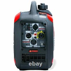 A-ipower Sua2000i 1600 Watt Rv-ready Générateur D'onduleur Portable Avec Paralle