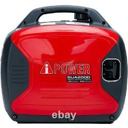 A-ipower Sua2000i 1600 Watt Rv-ready Générateur D'onduleur Portable Avec Parallle