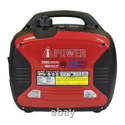 A-ipower Sua2000id 2000watts Recoil Démarrer Générateur D'onduleur À Double Carburant Alimenté