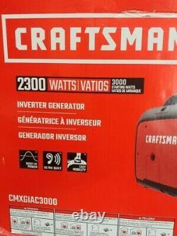 Artisan 2300 Watt Generator Onduleur Cmxgiac3000 Nouveau