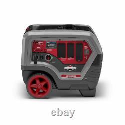 Briggs & Stratton 6500 Watt Générateur D'onduleur Gaz Portable Silencieux 120v 240v