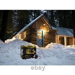 Champion 100519 5000 Watt Digital Hybrid Open-frame Onduleur Generator Avec Q