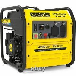 Champion 200955 3500 Watt Rv-ready Open Frame Onverter Generator Avec Quiet T