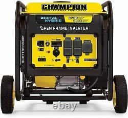 Champion 6250-watt Dh Series Open Frame Onduleur Quiet Technology 12.5 Heures Gaz