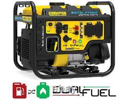 Champion Dual-fuel Inverter 100574 3500 Watt Dh Série Rv-ready Cadre Ouvert Nouveau