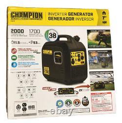 Champion Power Equipment #100478 Générateur D'onduleur Portable De 2000 Watts