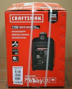 Craftsman Artisan 2500i- 2500 Watt Générateur D'onduleur Portable #c0010250