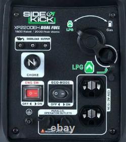 Duromax Xp2200eh 2200-watt Double Fuel Digital Onduleur Générateur Portable