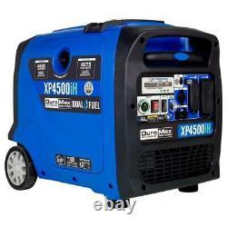 Duromax Xp4500ih 4500 Watt 223cc Générateur D'onduleur Numérique Portatif À Double Combustible