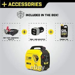 Équipement D'alimentation Champion 100692 2000-watt Générateur D'onduleur Portable, Ultra-léger