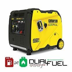 Équipement D'alimentation Champion 200988 4500-watt Dual Carburant Rv Prêt Inverter Portable