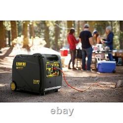 Équipement D'alimentation Champion 4500-watt Générateur D'onduleur Portable Avec Rem Sans Fil