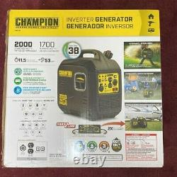 Équipement De Puissance Champion 2000 Watt Générateur D'onduleur Portable Ultra Light
