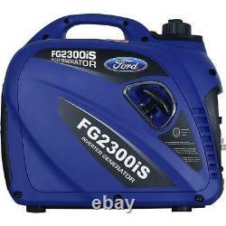 Ford 2300 Watt Générateur D'inverseur D'essence Portable Super Silencieux Fg2300is