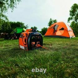 Generac 2,000-watt Silencieux Alimenté Au Gaz Générateur D'onduleurs À Domicile Rv Camping