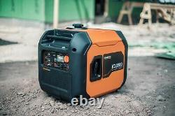 Generac 7127 -iq3500 3500 Watt Onduleur Démarreur Électrique Ultrasilencieux 50 St / Csa