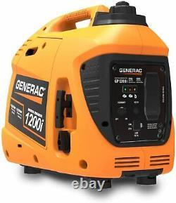 Generac 76711 Gp1200i 1200 Watt Générateur D'onduleur Portable, Orange Et Noir