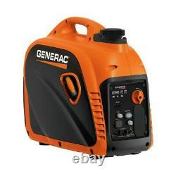 Generac 8250 Gp2500i 120v 18.3 Amp Portable 2500 Watts Inverter Generator Nouveau