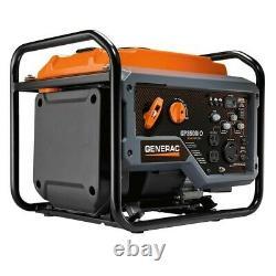 Generac Gp3500io 3 500-watt 212cc Générateur D'inverseur Portatif De Démarrage