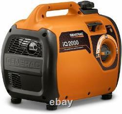 Generac Iq2000 2000 Watt Inverter Portable Generator, Carb (reconditionné)