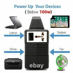 Générateur D'énergie Portable De Batterie Rechargeable 150-watt Panneau Solaire