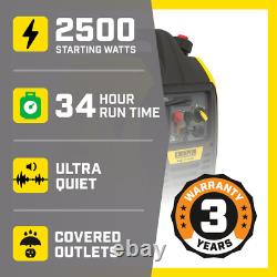 Générateur D'onduleur À Double Recul Portable Ultra-léger De 2500 Watts