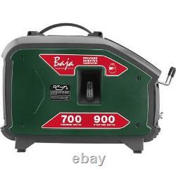 Générateur D'onduleur Baja 900-watt Protection Contre Les Surcharges Propane Alimenté