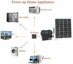 Générateur D'onduleur D'énergie Solaire Zerobills 1500/3000 Watts De Pointe Hors Réseau