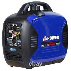 Générateur D'onduleur D'essence Portail A-ipower 2 000 Watts Alimenté Par Le Moteur Yamaha