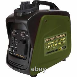 Générateur D'onduleur De 1000 Watts Camping Portable Tailgating Home Rv Gas Powered New