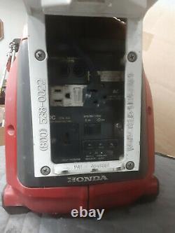 Générateur D'onduleur Honda Eu1000i Avec Éclairage Tele-lite 500 Watt