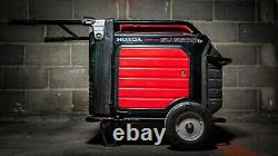 Générateur D'onduleur Honda Eu6500is 6500 Watt (utilisé)