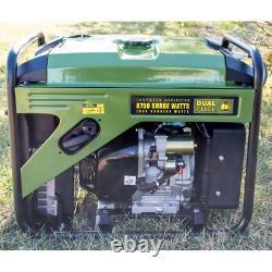 Générateur D'onduleur Numérique À Double Carburant De 8 750/7 000 Watts Avec 50 Ampères Rv Outlet, Usb