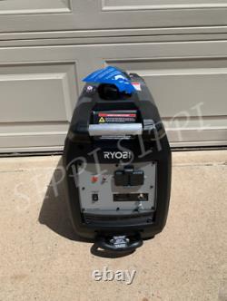 Générateur D'onduleur Numérique Alimenté À L'essence Ryobi De 2 200 Watts