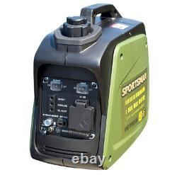 Générateur D'onduleur Numérique Sportsman 1000/800-watt Alimenté Au Gaz Auto Idle Control
