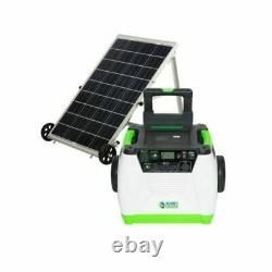 Générateur D'onduleur Portable 1800 Watt De La Nature Avec Panneau D'alimentation Solaire
