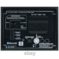 Générateur D'onduleur Portable Honda Eu2200i 1800 Watt Avec Bluetooth Et Co-minder