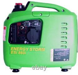 Générateur D'onduleurs 700/600-watt 40cc Écran LCD Alimenté À L'essence Avec Carb