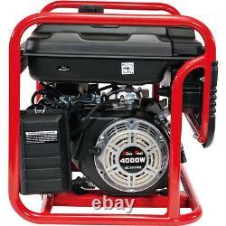Générateur De Gaz Portatif 4000 Watt Urgence Lifan Engine Power Camp Tailgate