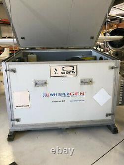 Générateur De Moteur Stirling Whispergen 1000 Watts Avec Onduleurs De Puissance Outback