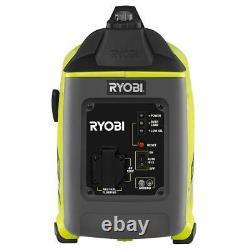 Générateur Inverter Portable Ryobi Gaz Camping Worksites Pannes D'électricité 1000 Watt