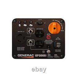 Générateur Portable Generac Gp3000i Générateur D'onduleur Portable Compact De 2300 Watts