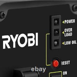 Générateur Ryobi Onduleur Numérique Essence Portable Alimenté Puissance Propre 1000 Watt