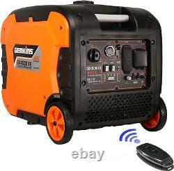 Genkins 4500 Watt Générateur D'onduleur Portable Démarreur Électrique + Télécommande
