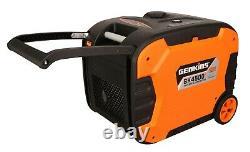 Genkins 4500 Watt Générateur D'onduleur Portable Ultra Quiet 30 Amp Rv Camping Rdy