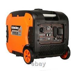 Genkins 4500 Watt Inverter Générateur Ultra Silencieux True 30 Amp Rv Camping Prêt