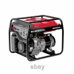 Honda 655680 Générateur Portable De 5 000 Watts Avec Technologie Davr (carb)