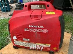 Honda Eu1000i 1000 Watt 1.8 HP Generateur Inverter