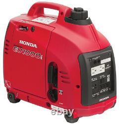 Honda Eu1000i Générateur De 1000 Watt Flambant Neuf Dans La Boîte Du Concessionnaire Honda Autorisé